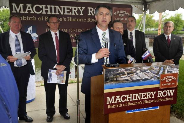 Machinery row, June 10, 2014