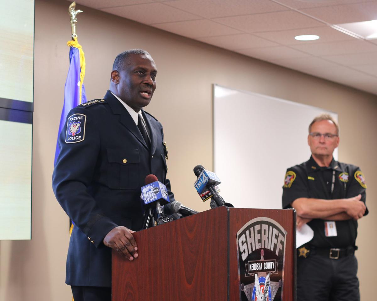Kenosha sheriff press conference