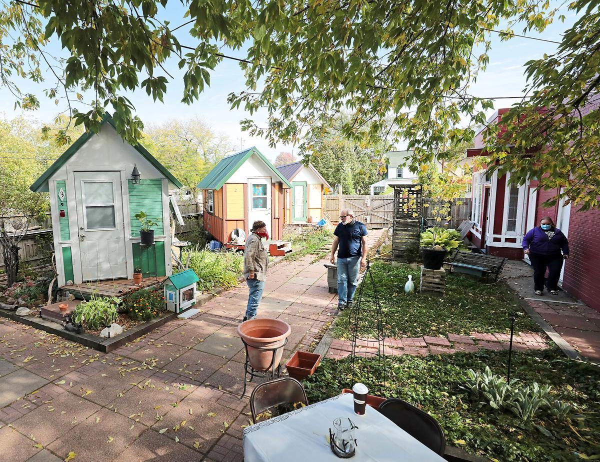 Occupy Madison's tiny house village