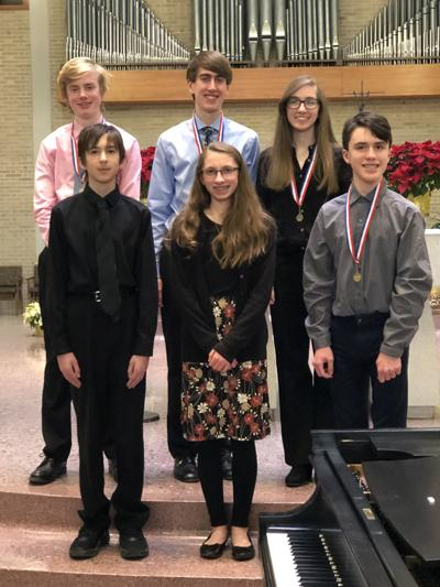 Piano competition winners