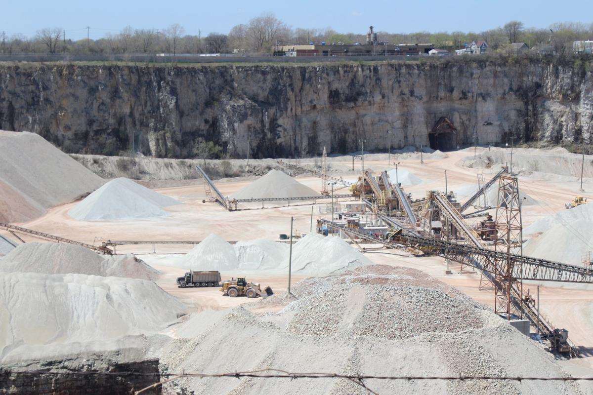 Payne & Dolan's Caledonia quarry