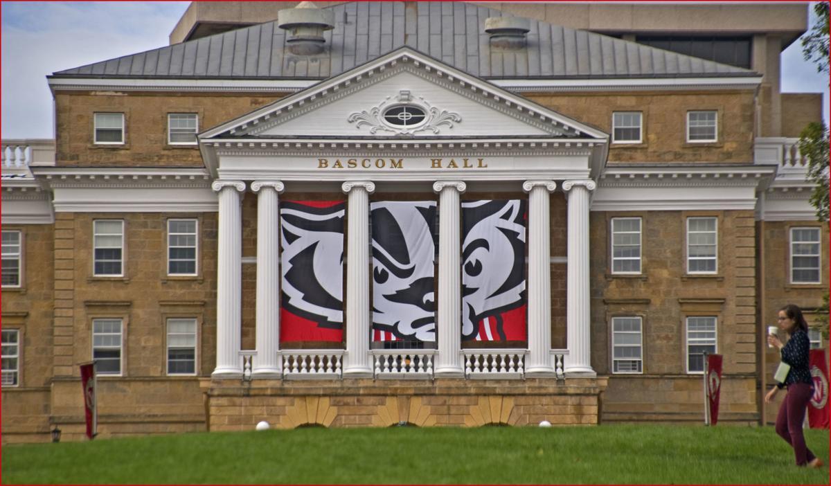 University of Wisconsin-Madison Bascom Hall stock photo