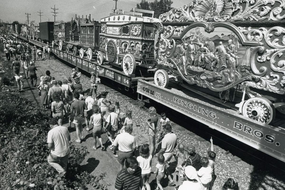 The Ringling Bros. and Barnum and Bailey Circus train