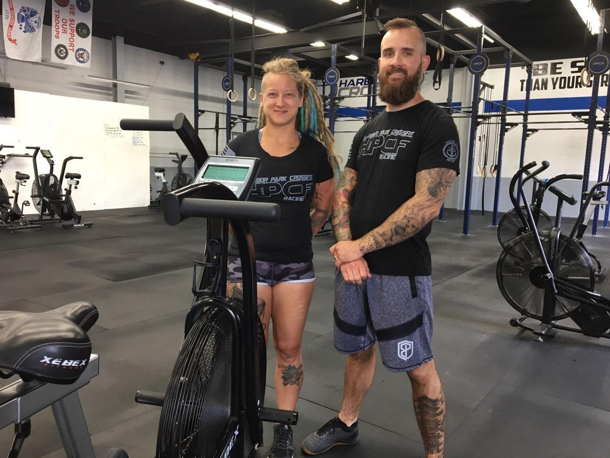 Corian and David Yandel, owners of Harbor Park CrossFit in Racine