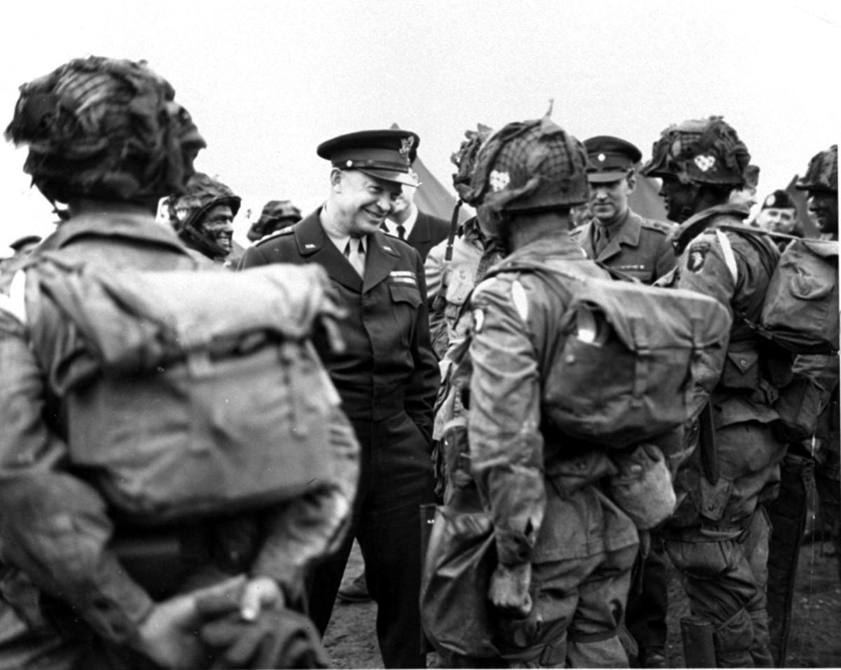 EISENHOWER CALL FOR VICTORY