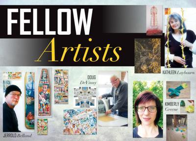 Artist Fellowship exhibit