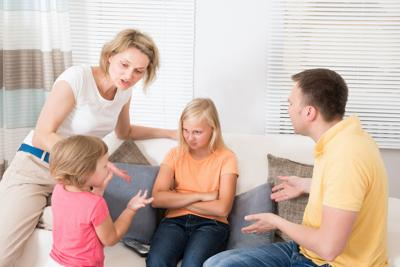 Try to stay flexible in family discussions.