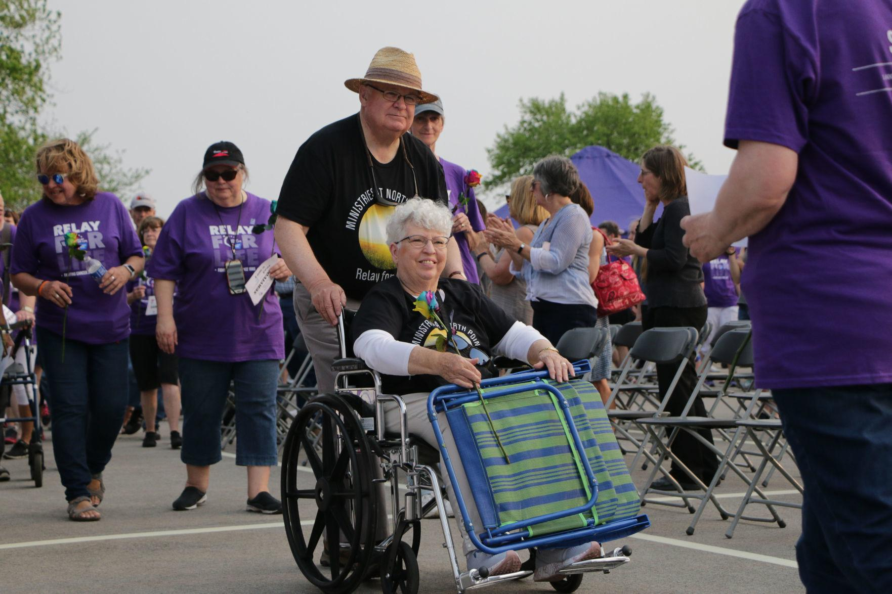 Relay For Life survivors take first lap