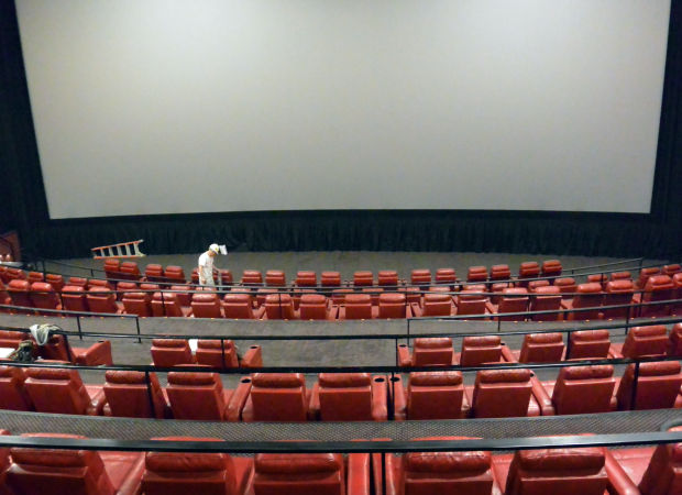 recliner seats added to one of renaissance cinema�s theaters
