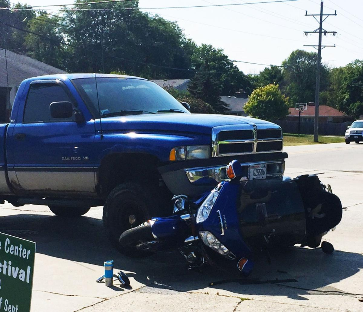 Truck vs Motorcycle
