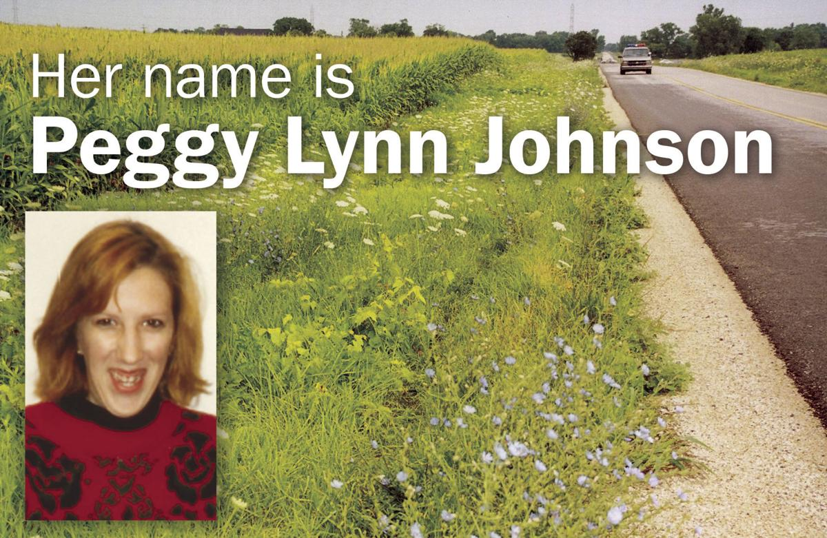 Her name is Peggy Lynn Johnson