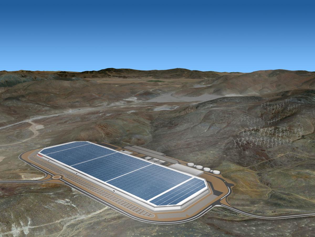 Gigafactory rendering