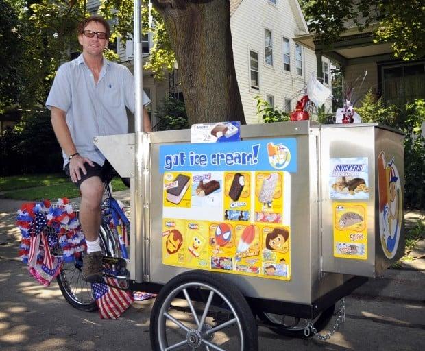 "Ice cream business not worth it - ""Unlucky"" Chuck's ice cream trike"