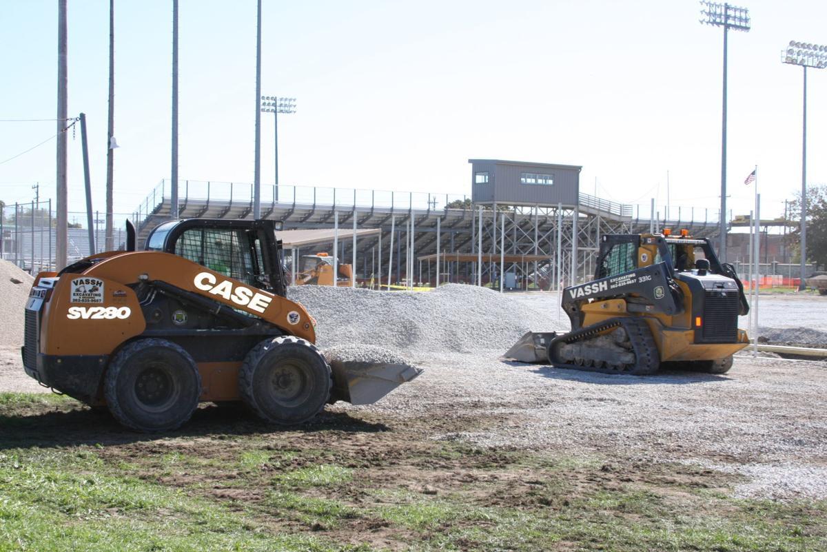 Horlick Field renovations