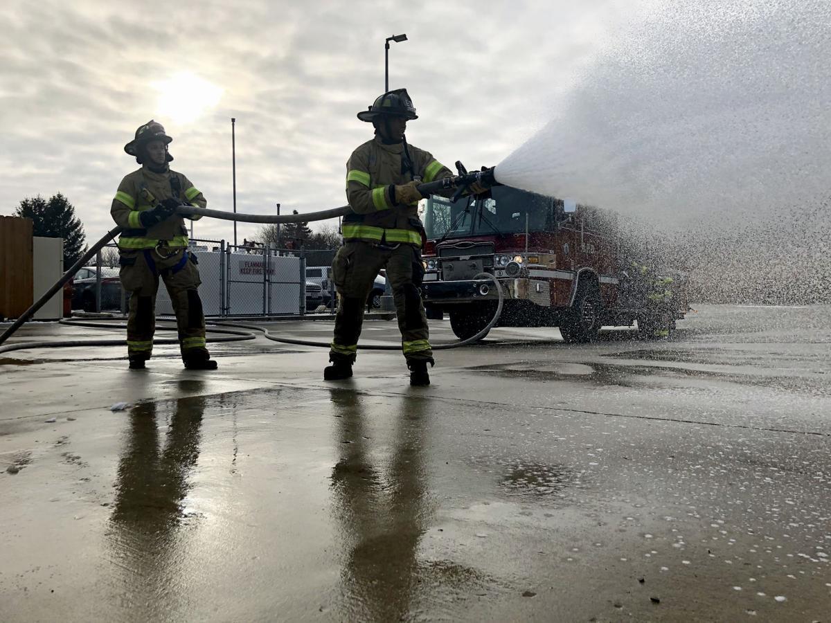Madison Fire Department foam