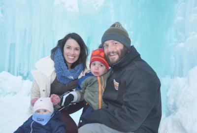 Lake Geneva Ice castle