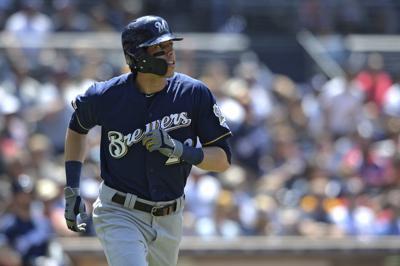 Brewers Padres Baseball