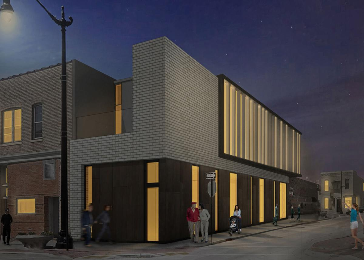 601 Villa St. Rendering Rear