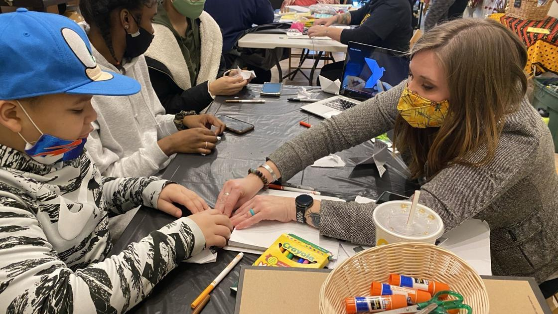 'All kinds of people' celebrated Dr. Martin Luther King Jr. Day at Mahogany Gallery's Creative Day of Service