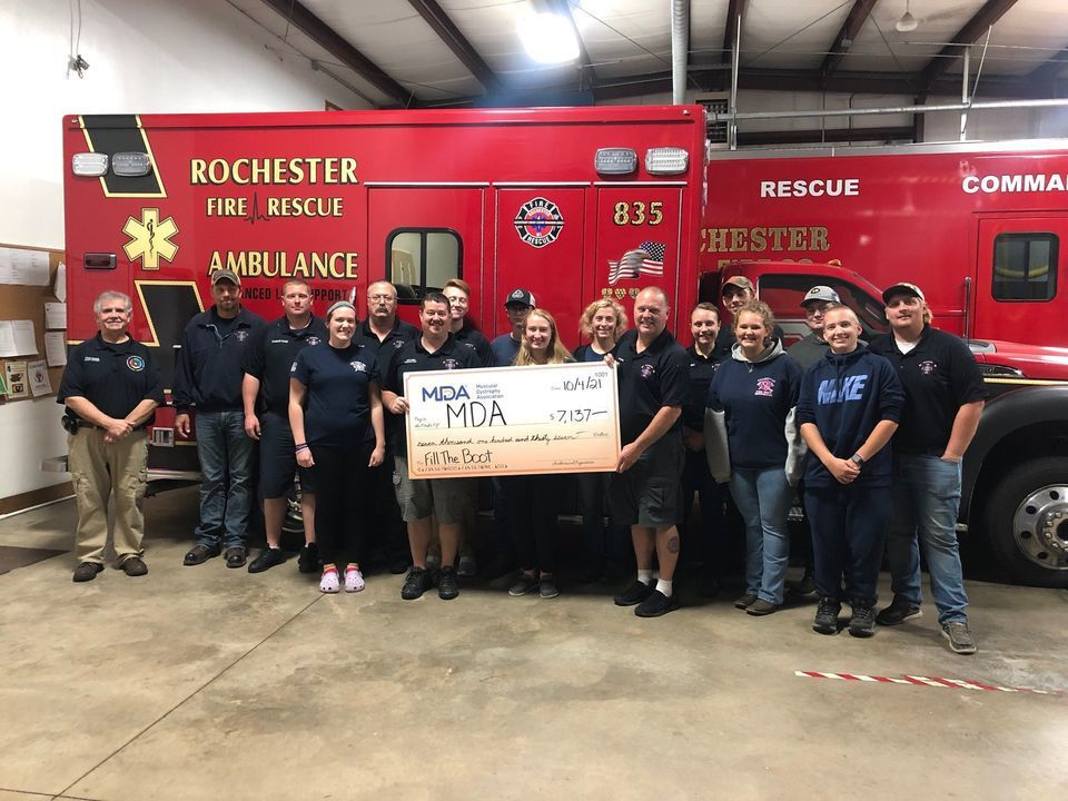 Rochester Volunteer Fire Company supports the MDA