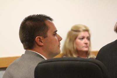 Matthew Baumhardt in court