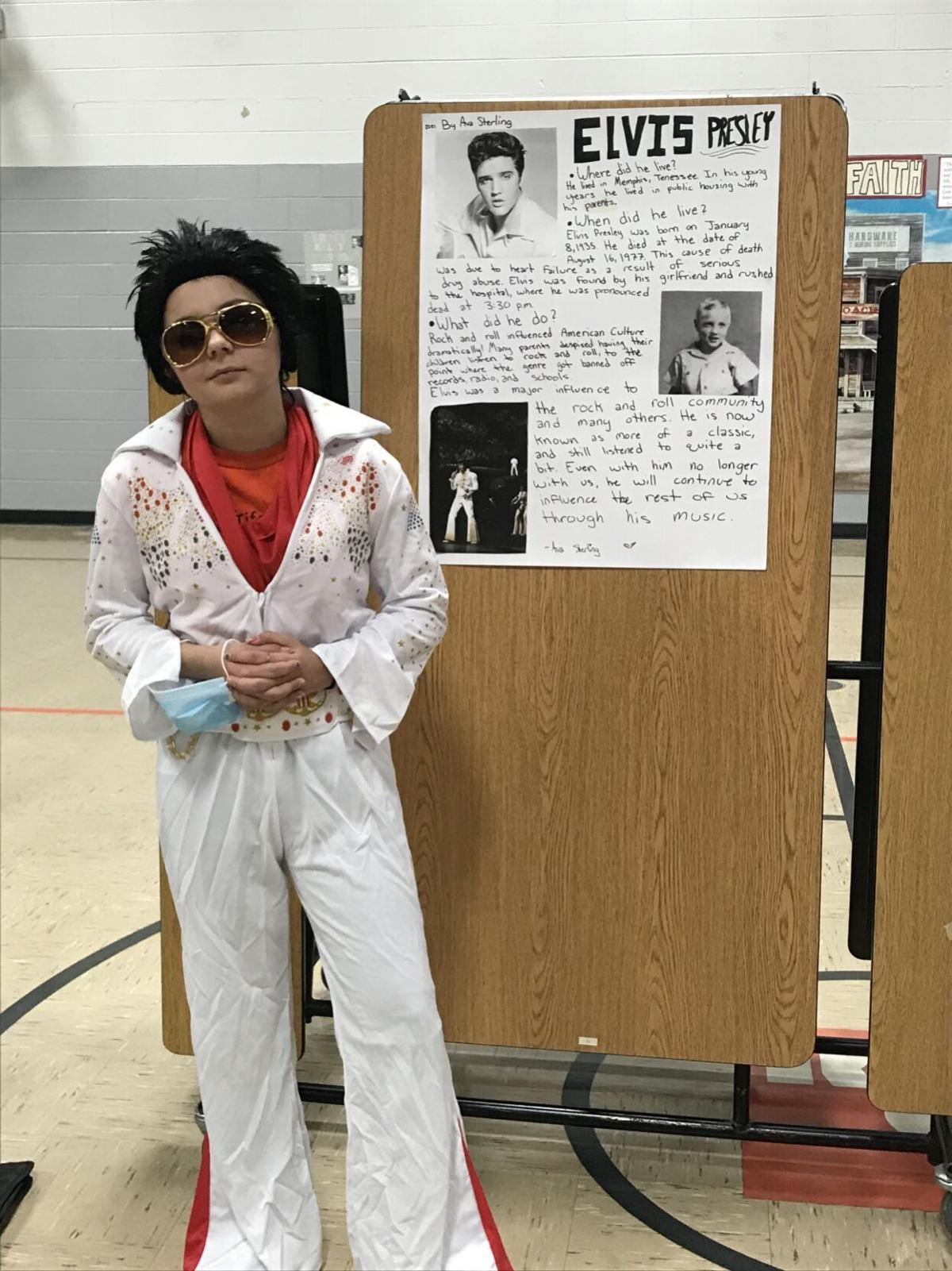Ava Sterling as Elvis Presley