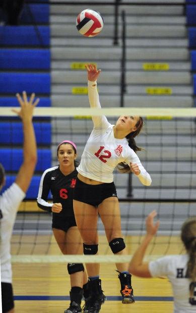 Horlick girls volleyball