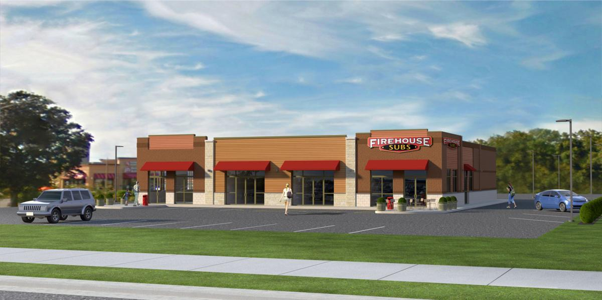 Pleasant Pointe Commons rendering