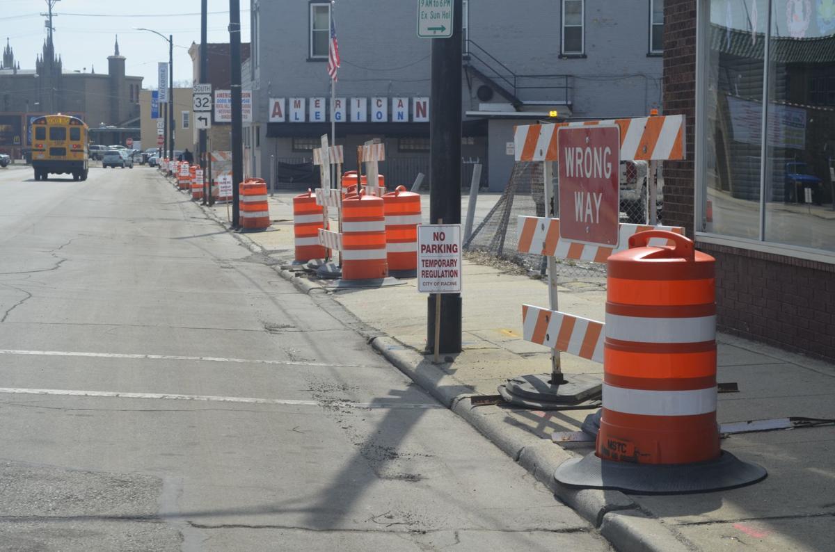 Douglas Avenue construction