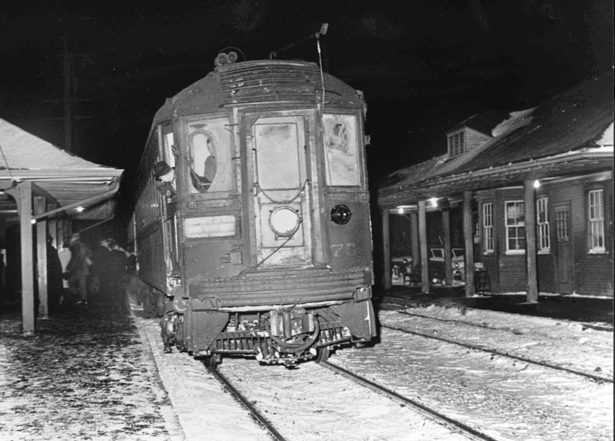 The final North Shore train