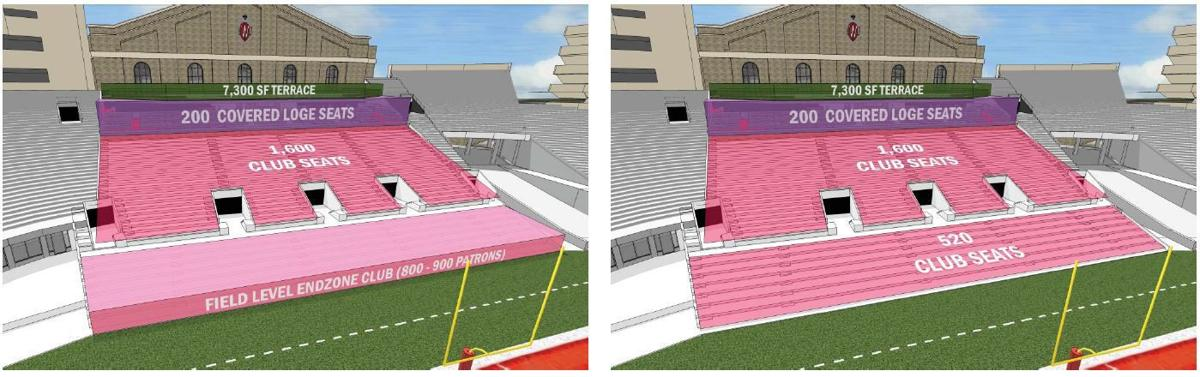 Camp Randall South End Zone