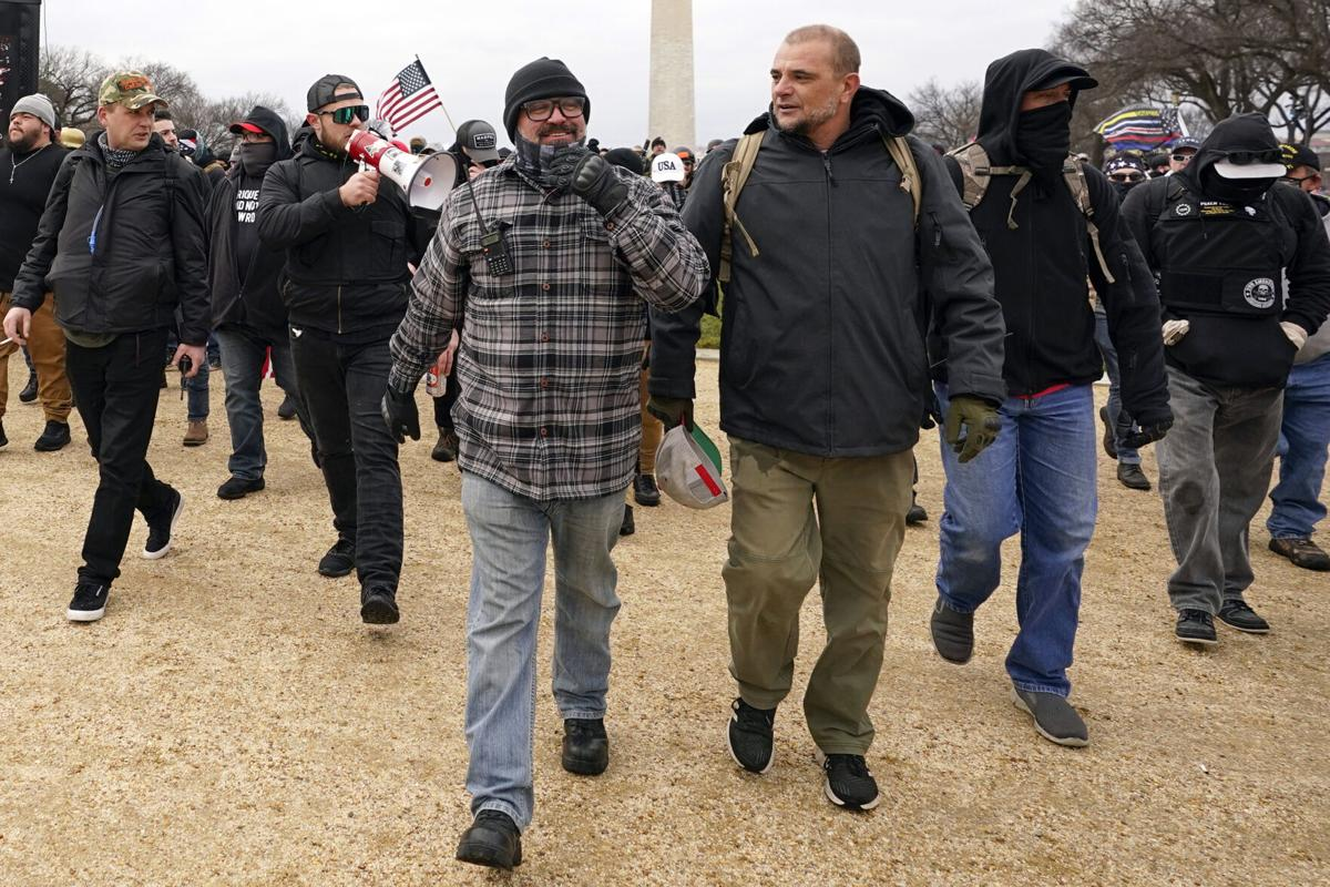 Capitol Breach Extremist Groups