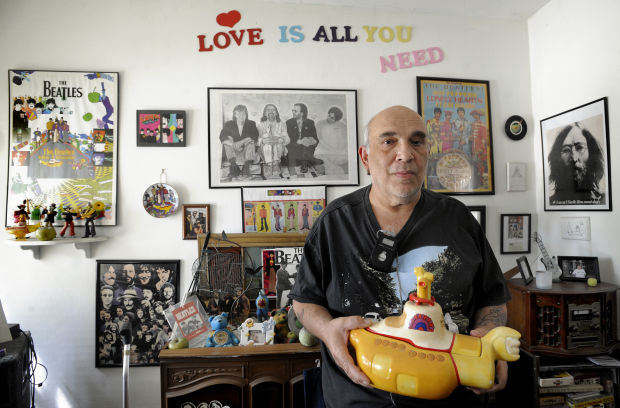 Man\'s lifetime worth of Beatles memorabilia being put up for sale ...