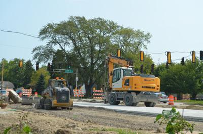 Durand Avenue construction