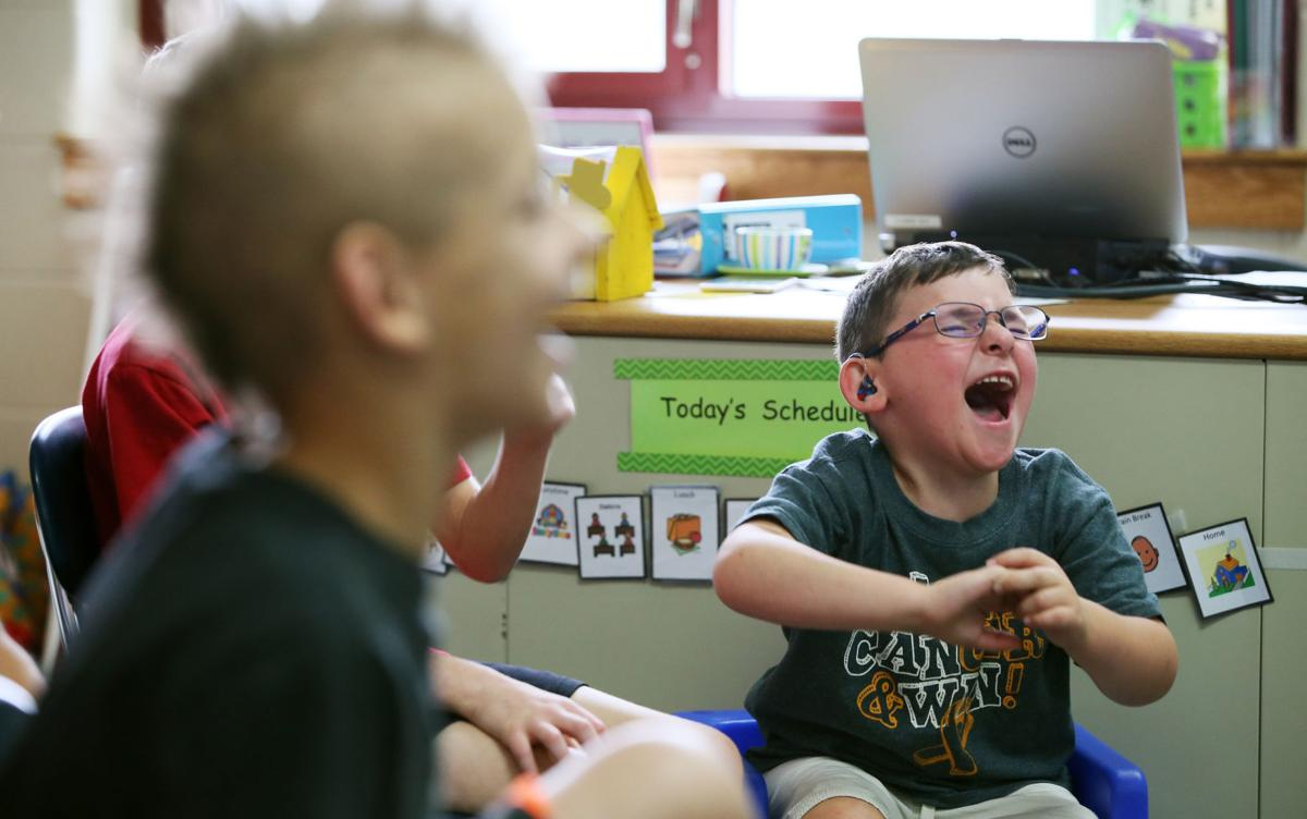 Born with rare brain cancer, Illinois boy beats odds to begin kindergarten
