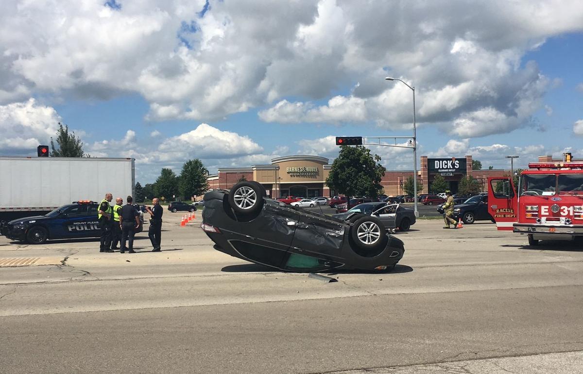Rollover crash on Highway 31