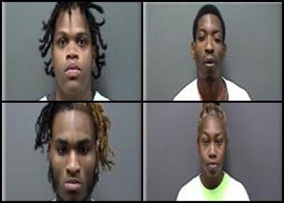 Wells Fargo Bank robbery suspects