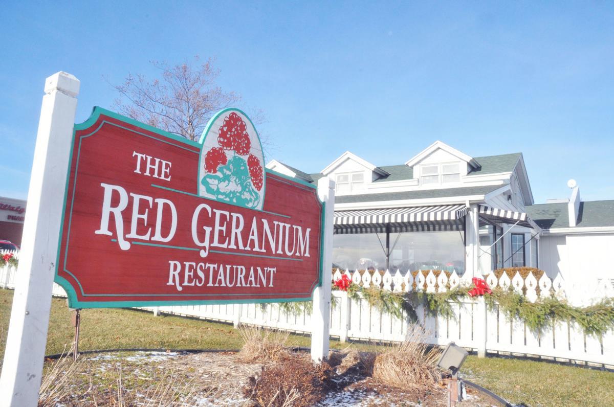 Red Geranium Restaurant in Lake Geneva
