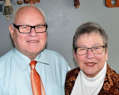 Mr. and Mrs. Jim Johnson