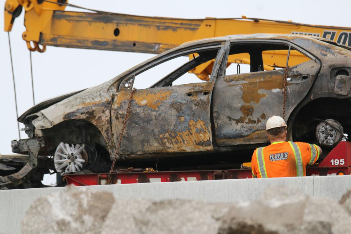 UPDATE: Two confirmed dead in fiery crash that shut down I-94