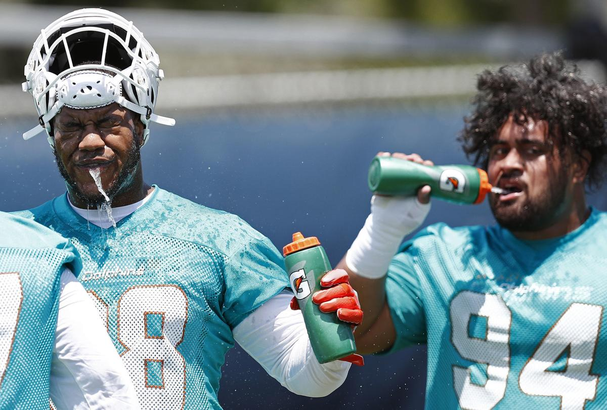 Dolphins Rookie Camp Football