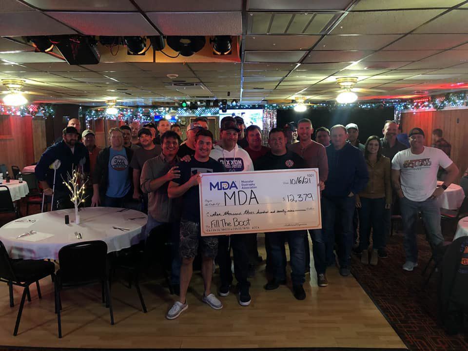 Kenosha Professional Firefighters Local 414 supports the MDA
