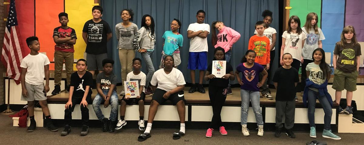 Giese Elementary School Fifth Grade students become published authors