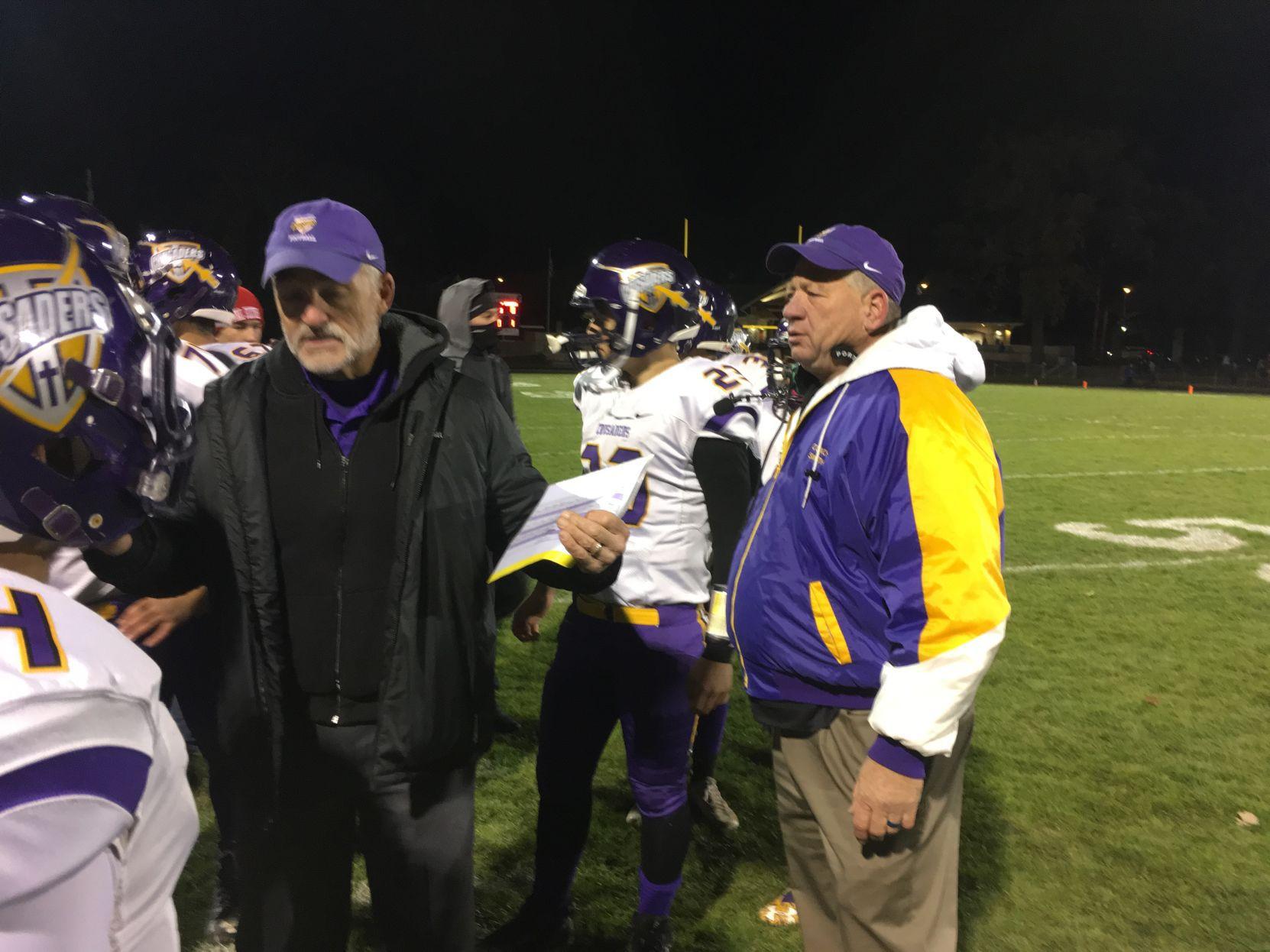 Racine Lutheran playoff football WIAA football Season