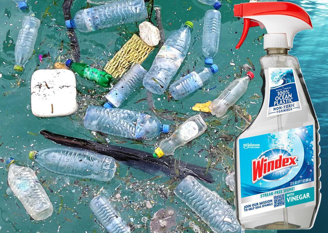Windex Vinegar Ocean Plastic