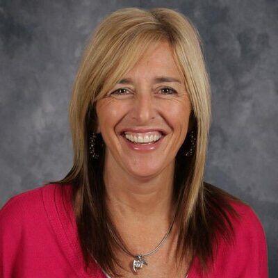 Jackie Lichter, principal at All Saints Catholic Schools, Kenosha
