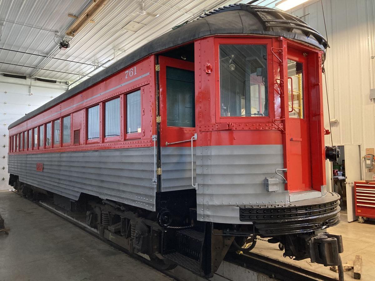 Car 761 after restoration