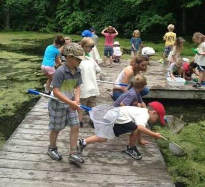 Pond scooping