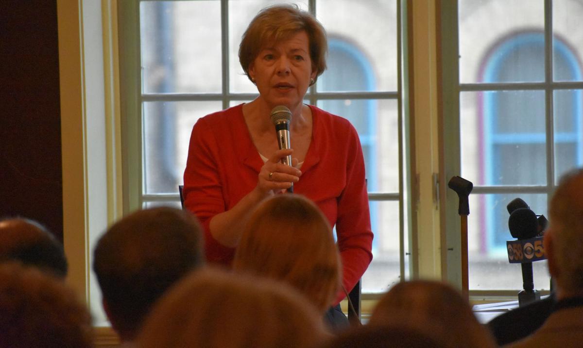 Sen. Tammy Baldwin at Uncorkt