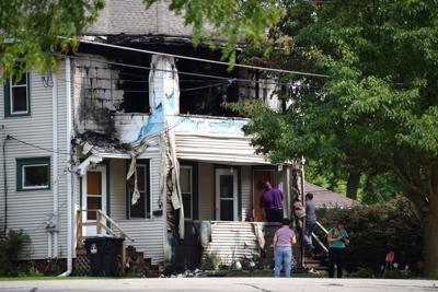 Duplex fire 1800 block of Ninth Street